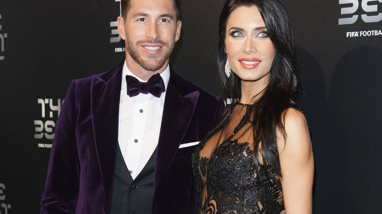 Foto: Pilar y Sergio, en una imagen en los Premios The Best. (Gtres)