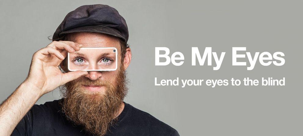 Foto: Be My Eyes, la 'app' que presta ojos a los invidentes