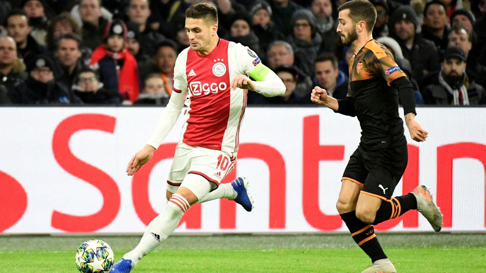 Foto: Champions league - group h - ajax amsterdam v valencia