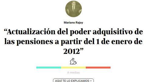 Rajoy concretó 40 promesas para su primer Gobierno. Ha cumplido 18