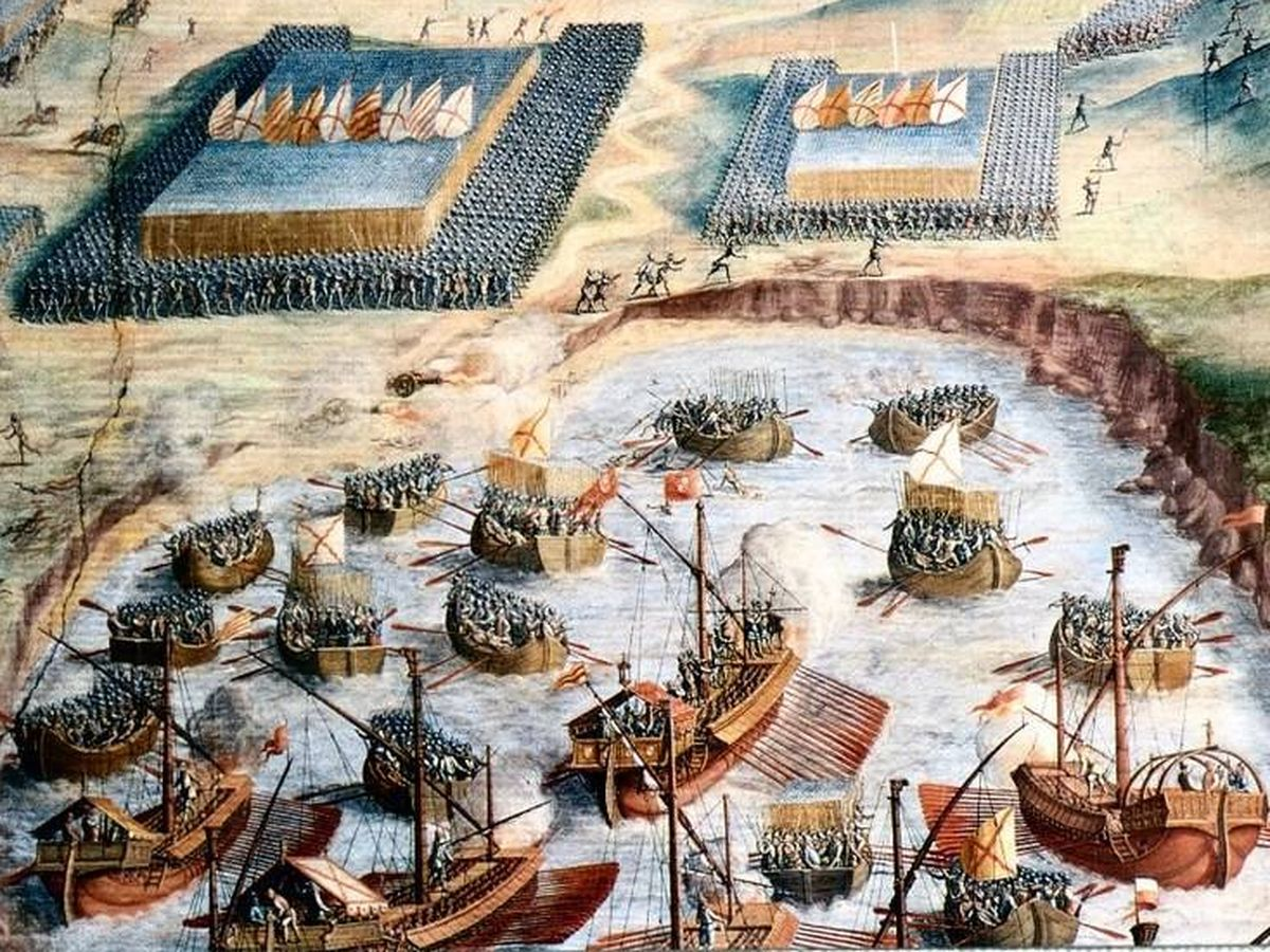 Foto: 'Desembarco de los tercios' de Niccolò Granello.