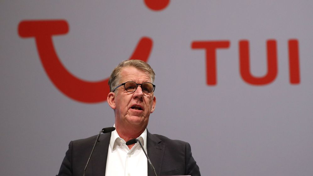 Foto: CEO de TUI, Friedrich Joussen (EFE)