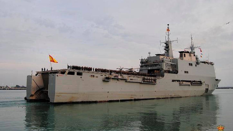 La decadencia de la Armada española: el Castilla se rompe cuando dirigía la misión Atalanta