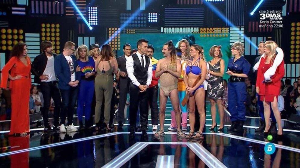 Foto: 'Me lo dices o me lo cantas' cede terreno en Telecinco y pierde el liderazgo.