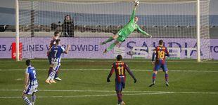 Post de Ter Stegen se convierte en héroe en la tanda de penaltis y mete al Barça en la final (1-1)