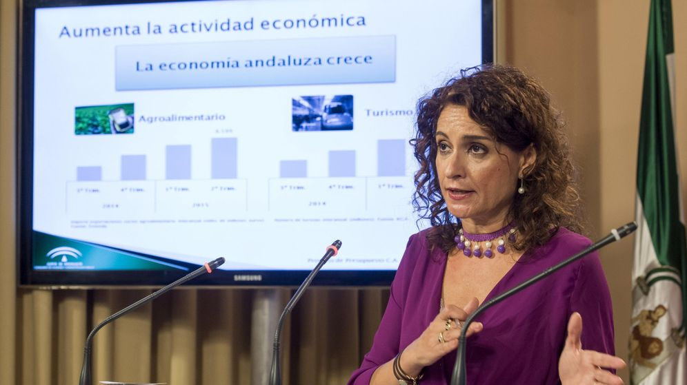 Foto: La consejera de Hacienda y Administración Pública, María Jesús Montero. (EFE)