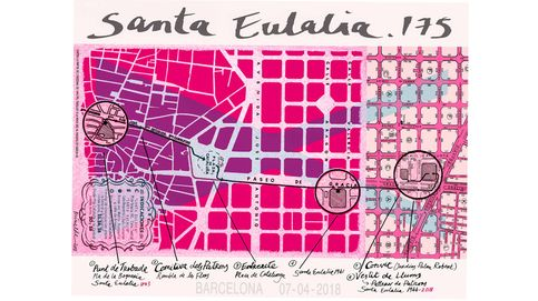 Santa Eulalia: 175 años como referente del lujo de Barcelona