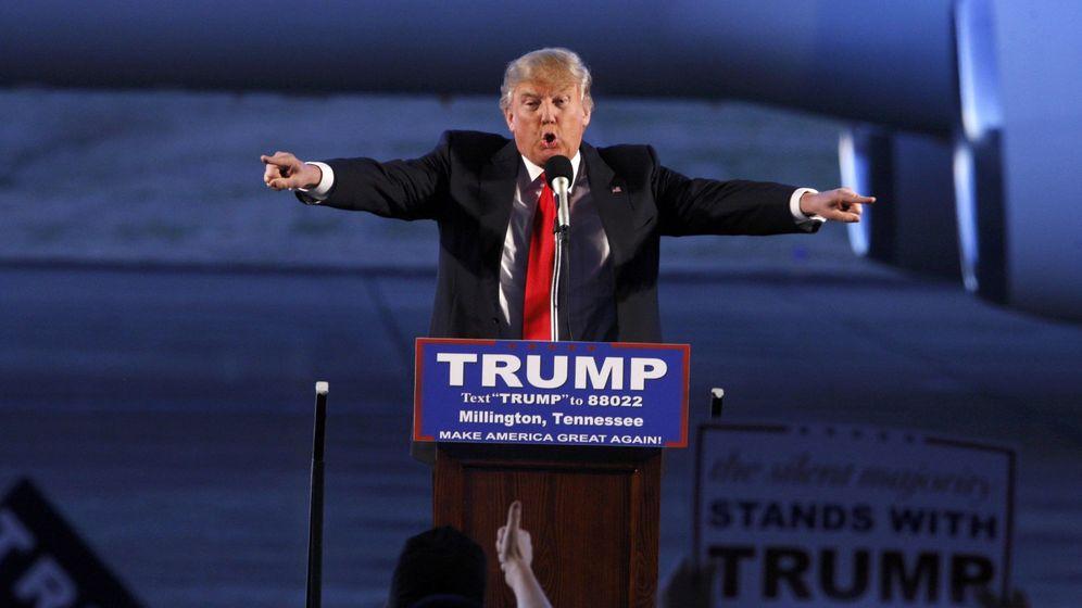 Foto: El candidato a la nominación republicana durante un mitin de campaña en Millington, el 27 de febrero de 2016 (Reuters).