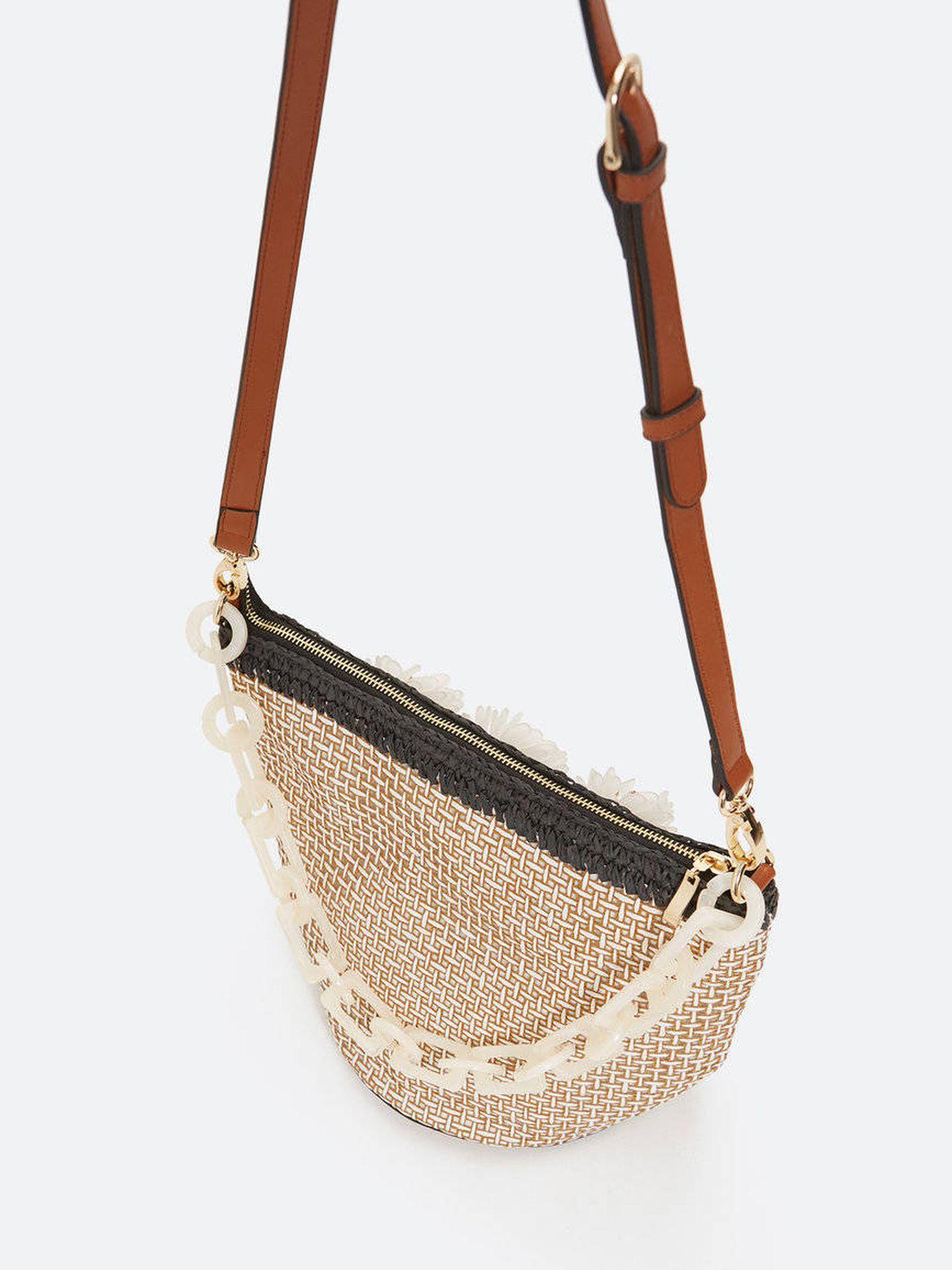 El bolso de Uterqüe. (Cortesía)