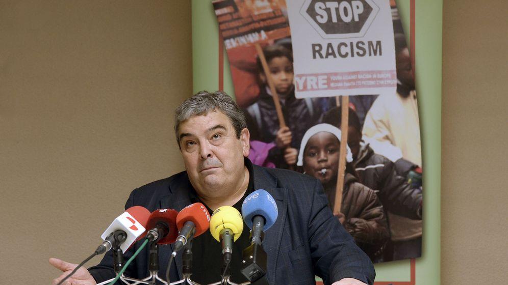 Foto: Esteban Ibarra, presidente del Movimiento contra la Intolerancia. (EFE)