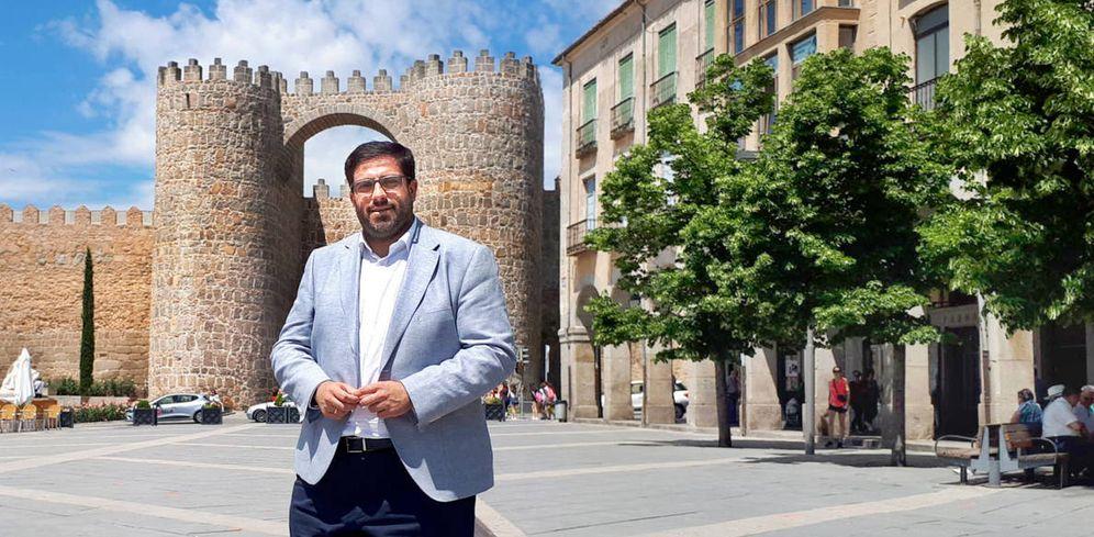 Foto: Juan Manuel Sánchez Cabrera, en Ávila. (R. M.)