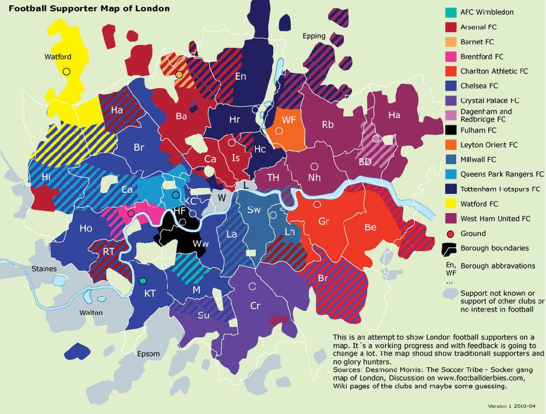 Veinte Mapas Fascinantes En Internet Para Entender El Mundo
