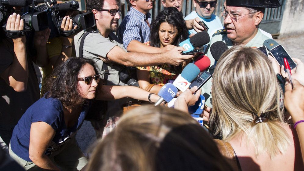 Foto: El jefe de la Comandancia de la Guardia Civil de A Coruña explicó ayer que el silencio informativo que mantienen los investigadores se debe al secreto de sumario y a que cualquier dato podría perjudicar la investigación. (EFE)