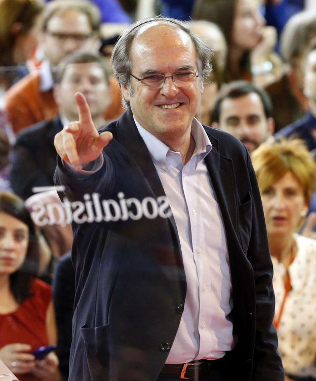 Foto: El candidato socialista a la Comunidad de Madrid, Ángel Gabilondo. (EFE)