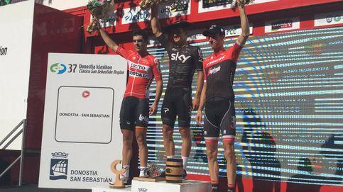 El Sky también domina la Clásica de San Sebastián, ganada por Kwiatkowski
