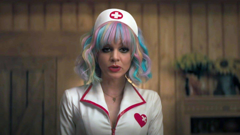 El look de noche de Carey Mulligan en 'Una joven prometedora'. (Cordon Press)