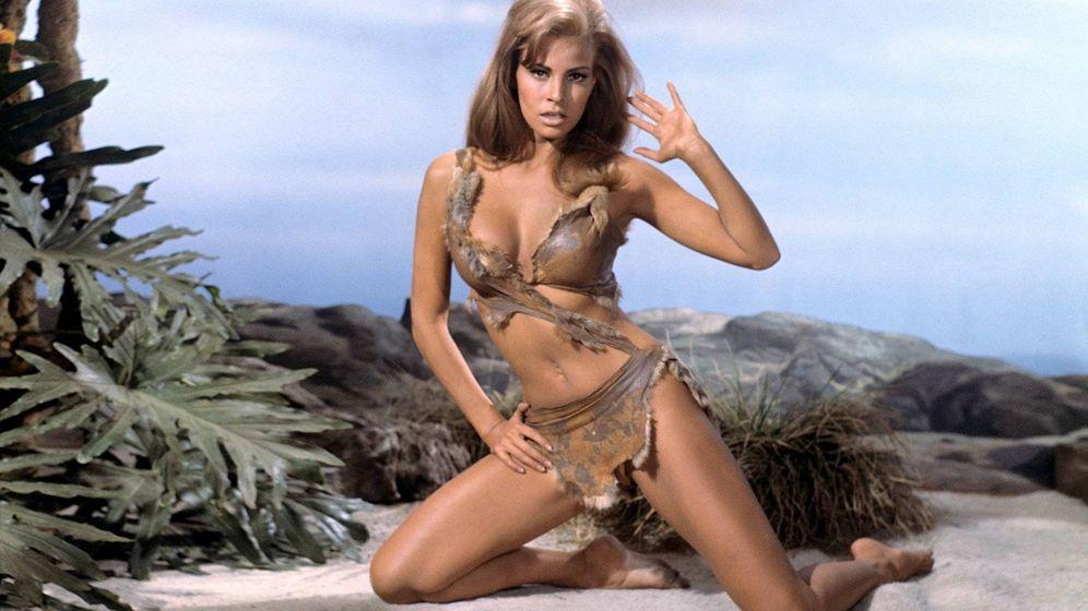 Foto: Raquel Welch como Loana en 'Hace un millón de años' (1966)