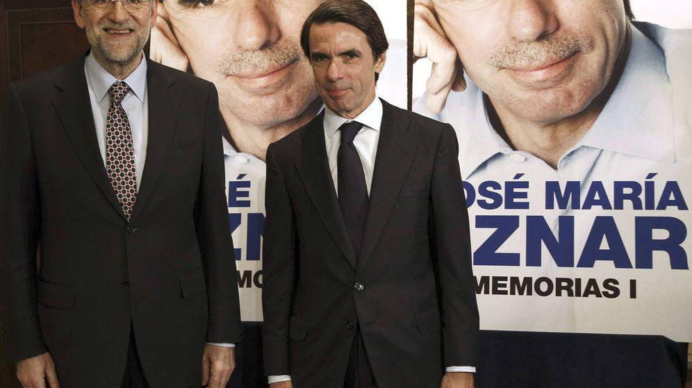 Foto: Aznar presenta sus 'Memorias' en Mdrid en 2012. Foto: J.J.Guillen/EFE