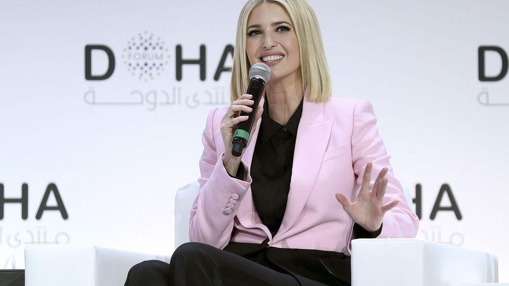 Foto: Ivanka Trump, en un acto oficial en Doha. (EFE)