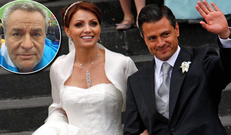 El ex de Angélica Rivera cambia de opinión respecto a la ilegalidad de su boda