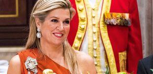 Post de Máxima de Holanda estrena otra espectacular joya en su última cena de gala