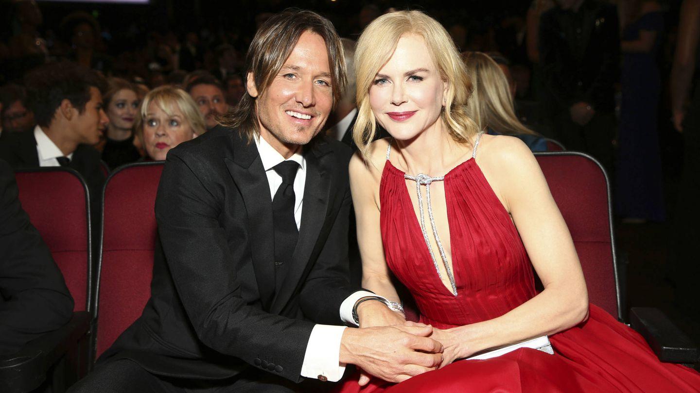 Keith Urban junto a su mujer, Nicole Kidman. (Gtres)