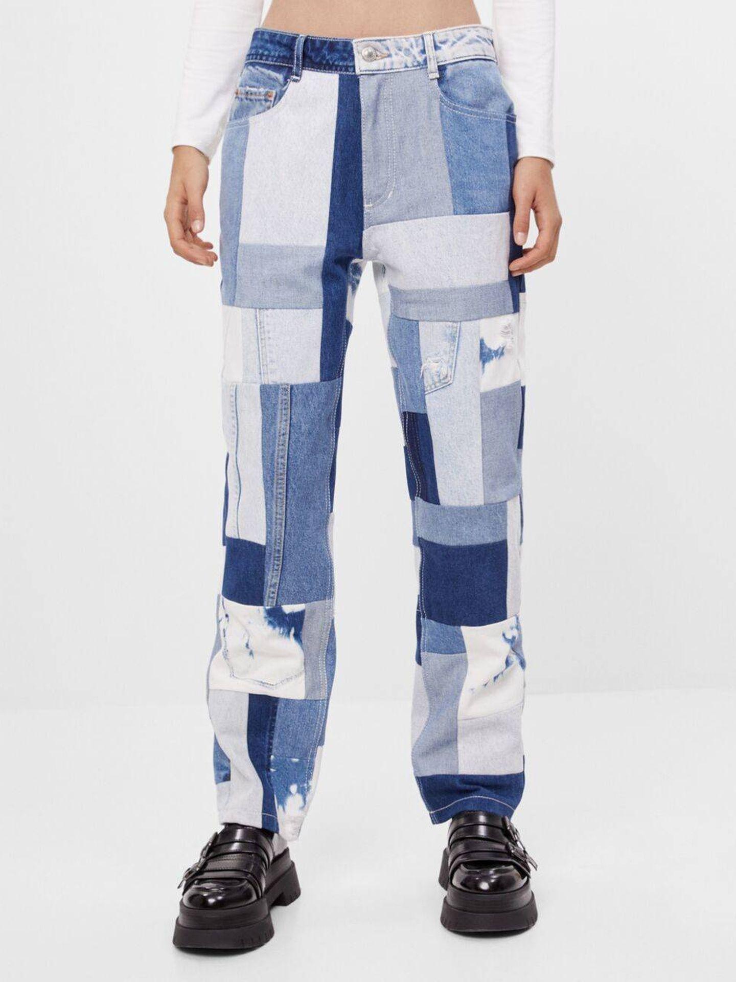 Los pantalones de Bershka. (Cortesía)