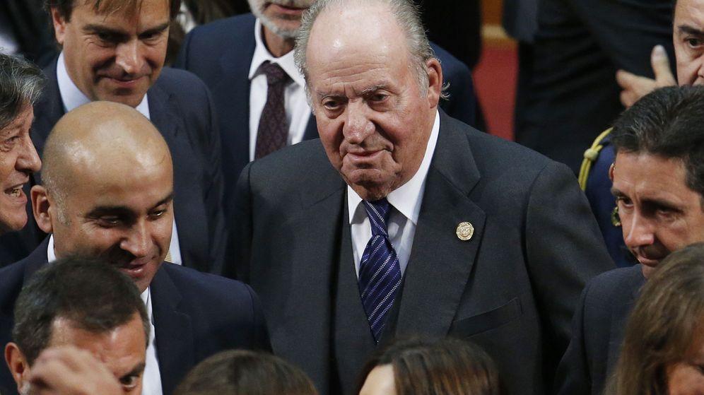 Foto: El Rey emérito, en la investidura del presidente de Chile. (EFE)