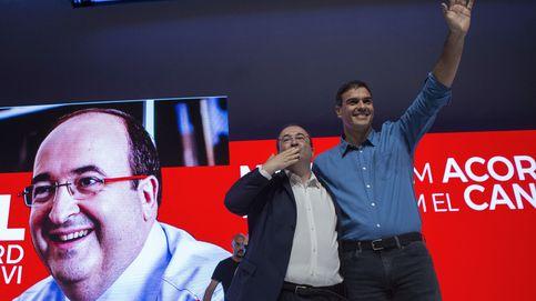 PSOE y PSC estrechan lazos para presionar más a Rajoy y combatir el 1-O