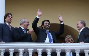El Málaga es rentable, pero el jeque continúa listo para venderlo