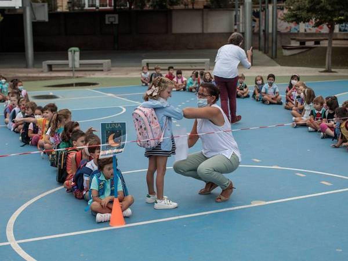 Foto: Clase en el colegio Jesús y María de Valencia. (EFE)