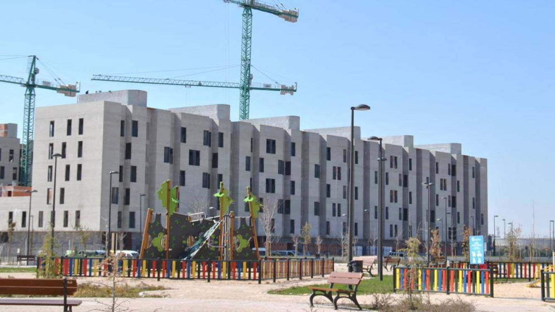 Foto: Viviendas en construcción. (EC)