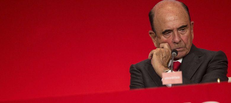 Foto: El presidente del Banco Santander, Emilio Botín. (EFE)