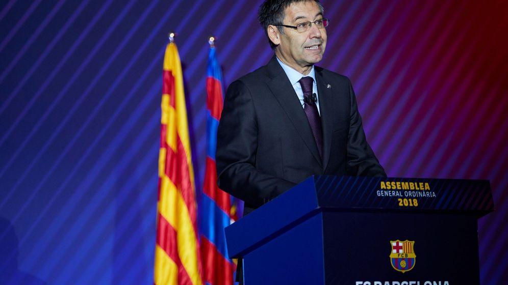 Foto: El presidente del Barcelona, Josep Maria Bartomeu. (EFE)