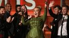 Adele arrasa en los Grammy 2017: mejor álbum y mejor canción del año