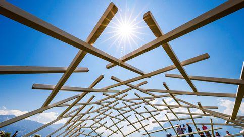 Instalación 'La Transumante' en Vevey