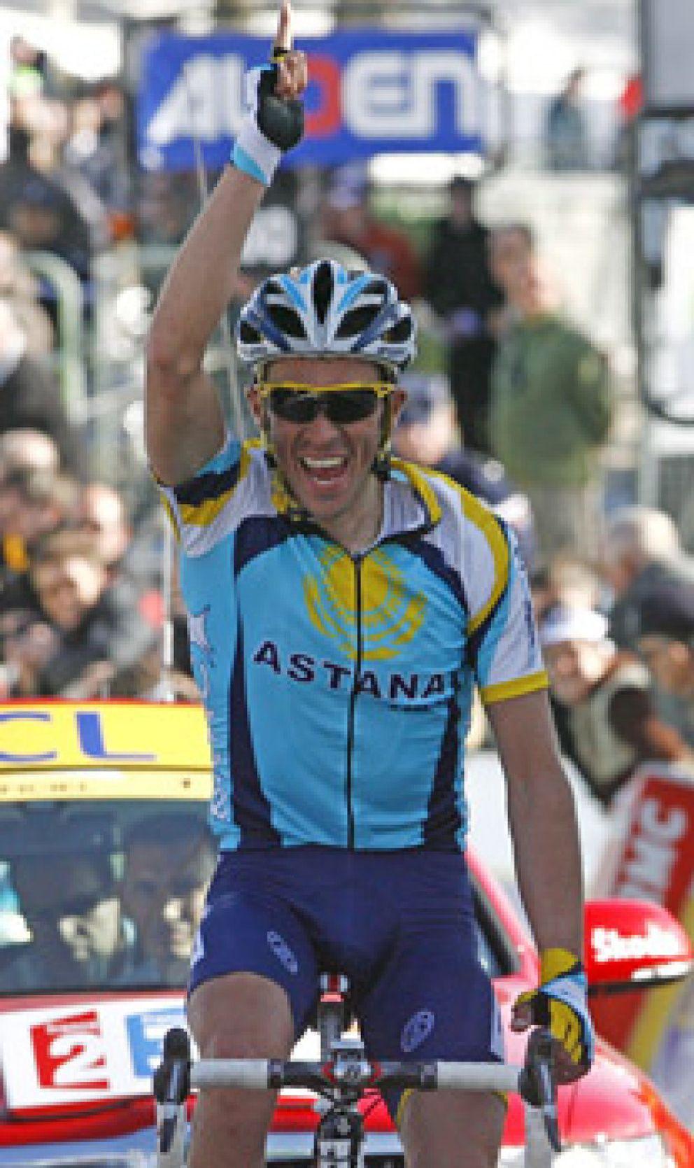 """Foto: Bruyneel: """"Contador está listo, Armstrong no lo sabemos"""""""