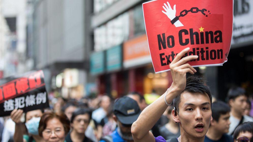 Foto: Protestas en Hong Kong este fin de semana. (Reuters)