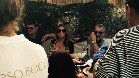 Langosta, arroz y mojitos, la 'merienda' de Mariah Carey en Formentera
