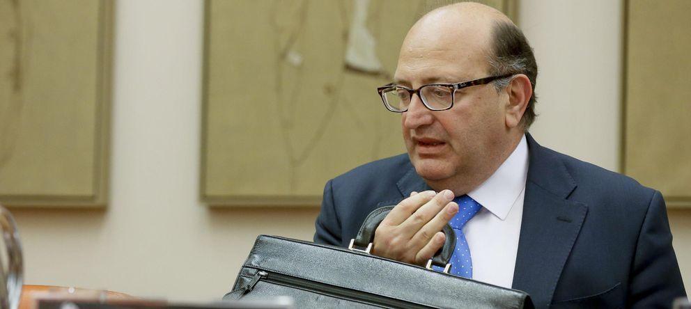 Foto: El presidente del Tribunal de Cuentas, Ramón Álvarez de Miranda (EFE)