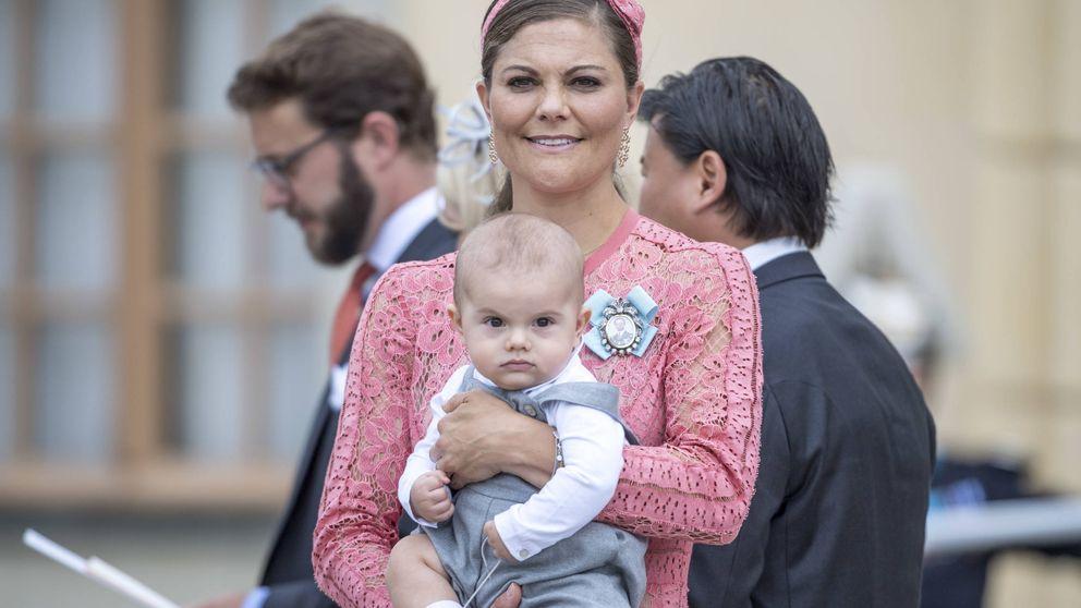 Victoria de Suecia comparte una nueva fotografía de su hijo, el príncipe Oscar