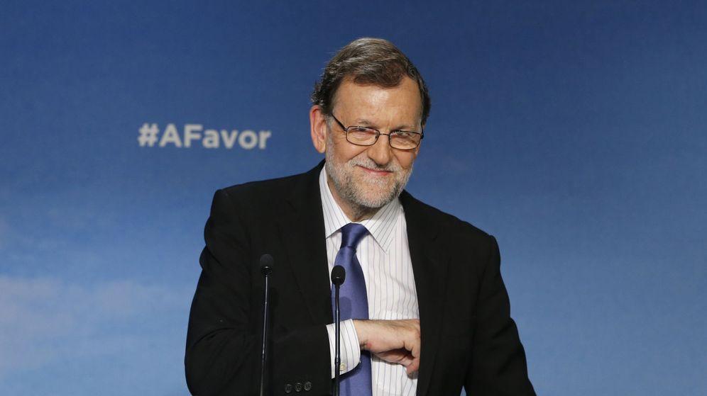 Foto: Rajoy ofrece su mano a los partidos moderados para formar un Gobierno estable. (EFE)