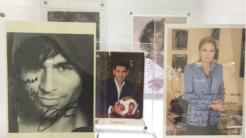 Enrique Iglesias, Noor de Jordania, Fernando Hierro...