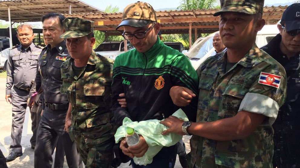 Camboya entrega al presunto asesino del español descuartizado en Bangkok