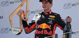 Post de El duro bofetón de Verstappen a Ferrari en la espectacular remontada de Carlos Sainz