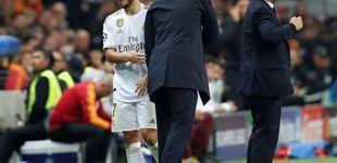 Post de La asfixia de Eden Hazard en el Real Madrid y la soga de Zidane