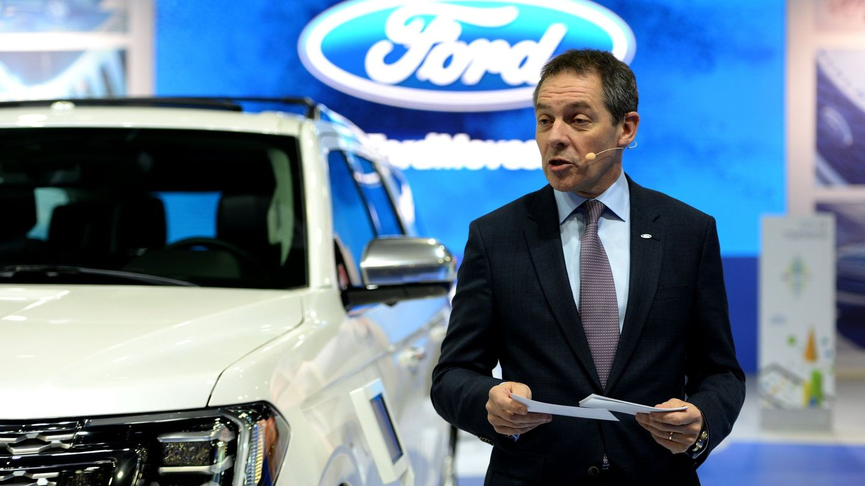 Steven Armstrong, vicepresidente de Ford Motor's Group y presidente para Europa, Medio Oriente y África.