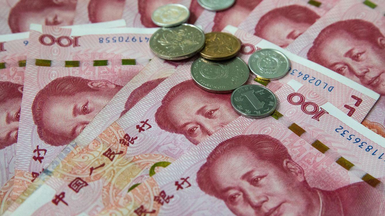 Foto: Monedas chinas