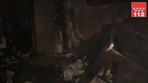 Cinco heridos leves en el incendio de un chalet de San Martín de la Vega