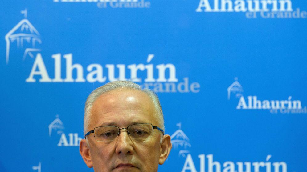 Foto: Juan Martín Serón, condenado por el Tribunal Supremo, se ha quedado al borde de la mayoría absoluta en Alhaurín el Grande. (EFE)